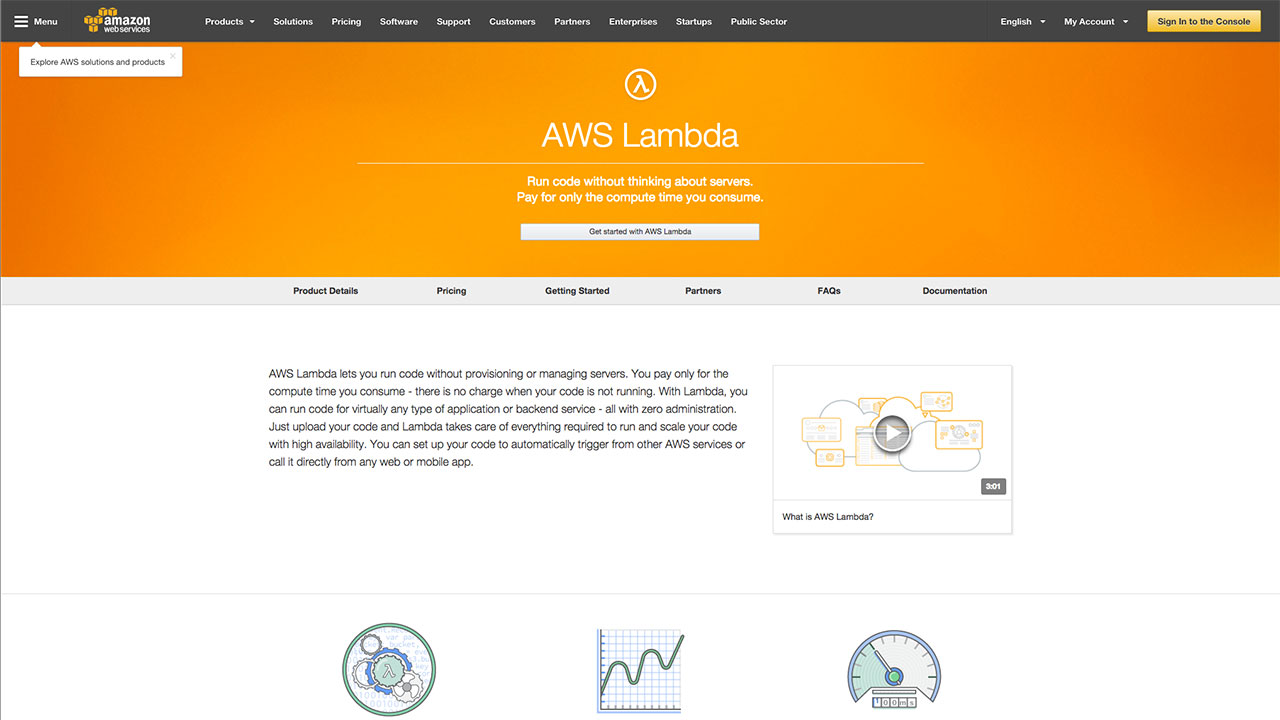 AWS Lambda for CloudFormation Stack Dependencies